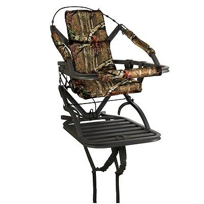 New 2017 Summit Titan SD Climbing Treestand w/ Stirrups & Harness 81118