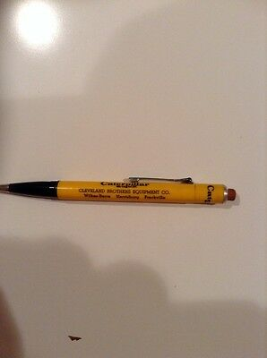 VINTAGE CATERPILLAR ADVERTISING MECHANICAL PENCIL Cleveland Brothers PA
