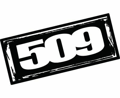 """509 Snowmobile LARGE 24"""" LOGO STICKER DECAL -Brand New"""