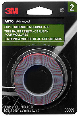 3M COMPANY - Molding Tape, 1/2-In. x 5-Ft.