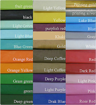 10 SHEETS ACID FREE TISSUE PAPER VARIOUS COLOUR 50CM*35CM roughly 14x20 inches