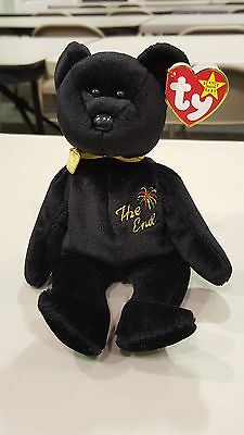 THE END TY Beanie Baby Very Rare W/Errors