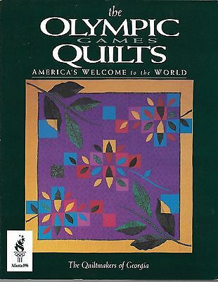 The Olympic Games Quilts - America's Welcome To The World Book