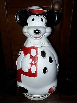 Vintage 1966 Mickey Mouse puppets wheat puffs cereal container
