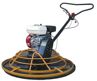 "JLM 37"" Walk Behind Concrete Cement Power Trowel Finisher Machine 5.5hp Engine"