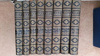 Old Books - Cassells Book Of Knowledge -  Encyclopaedia Set - Complete Set