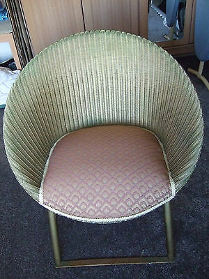 vintage retro antique wicker chair. used.