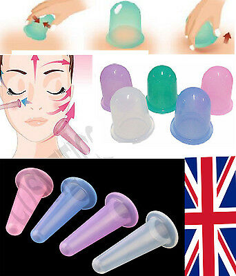 New Silicone Massage Vacuum Body and Facial Cup Anti Cellulite Cupping Ageing