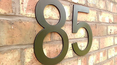 House number plaque / Door number / Large number 0 to 9 . 250mm 10ins high