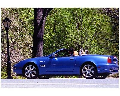 2003 Maserati Coupe & Spyder Factory Photo ca7837