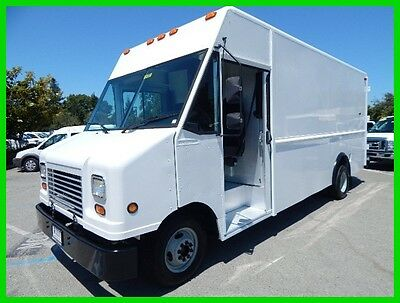 2007 Ford E-Series Van Base Stripped Chassis Used 2007 Ford E350 16' Step Van Walk-In Truck P700 5.4L Gas V-8 4,000 Miles