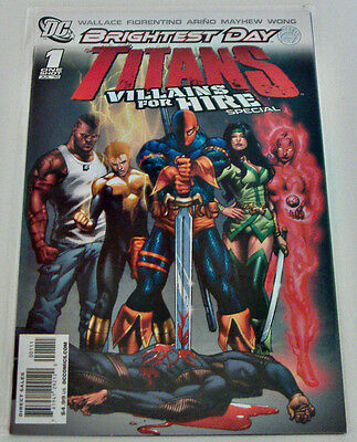Brightest Day: Titans Villains For Hire Special