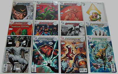 Brightest Day #0-24 Variant Set (33 Comics) Geoff Johns Peter Tomasi Complete Se