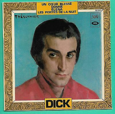 """DICK RIVERS   """" DONNE """"  +3  (EP 4 titres TBE )"""