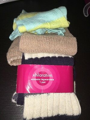Lot: 3 Pairs Of Leg Warmers Boot Cuffs