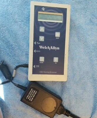 Welch Allyn OAE Hearing Scanner 29400 with power supply