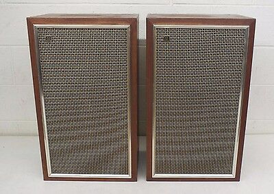 Vintage 1969 Pioneer CS-A31 High-End 3-Way Speakers EXCELLENT CONDITION LOOK