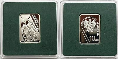 2006 Poland Silver proof 10zl - THE PIAST HORSEMAN