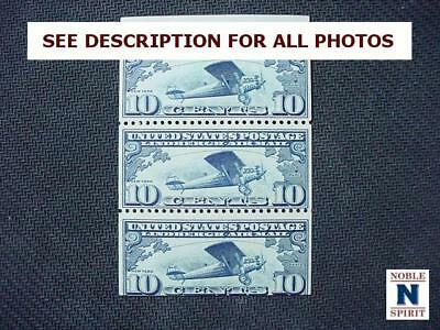 NobleSpirit NO RESERVE {SM} Desirable US C10a MLH Booklet Airmail BoB