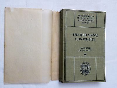 1921, The Red Man's Continent by Ellsworth Huntington, Aboriginal Indians in US