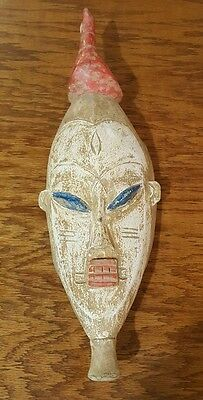 African art tribal art mask hand made wood rare collectible