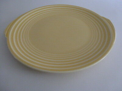 Vintage Yorktown Shape Edwin Knowles Yellow Dinner Plate