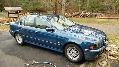 2002 BMW 5-Series  2002 BMW 525i - Manual - Topaz Blue - 81k miles