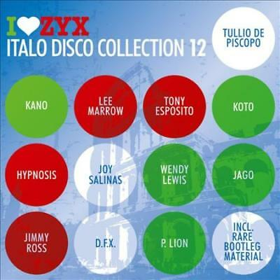 Various Artists - I Love Zyx: Italo Disco Collection 12 New Cd