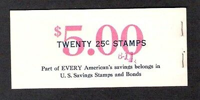 S6a Savings Stamps Complete Booklet with 2 Panes of 10 – Mint NH