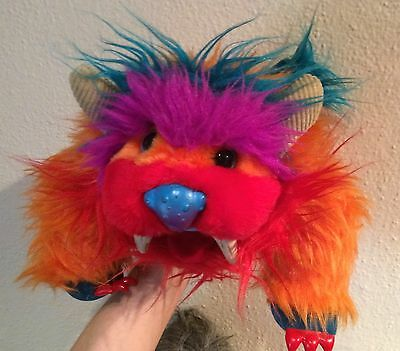 My Pet Monster Gwonk~Puppet Plush Toy 11 Inch Amtoy Vtg 1986