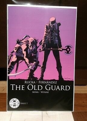 Old Guard 1 Color Image Comics 25Th Anniversary Blind Box Variant