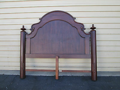 58125  QUALITY Cherry King Size  Headboard Bed