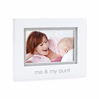 "4"" x 6"" Me And My Aunt Tabletop Picture Frame Home Photo Display Holder Decor"