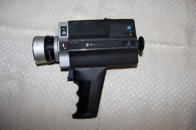 Vintage 1974 Bell & Howell Focus-Matic 673 XL Super 8 Movie Camera