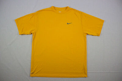 Nike - Yellow Cotton Short Sleeve Shirt (Multiple Sizes) - Used