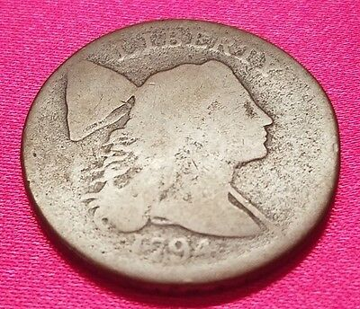 1794 Liberty Cap United States Large Cent - Head of 1794 - Free Shipping!