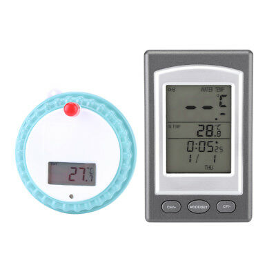 Wireless Digtal Floating Swimming Spa Thermometer Water Spa Temperature Guage AF