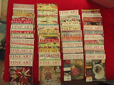 Folk art, decorative painting books
