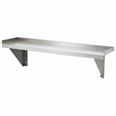 Simply Stainless Solid Wall Shelf 2100x300mm Stainless Steel Kitchen