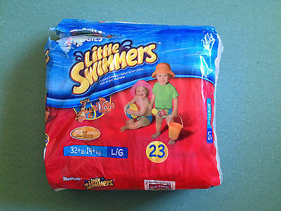 NEW Huggies Little Swimmers Size Large Swim Diapers 17ct
