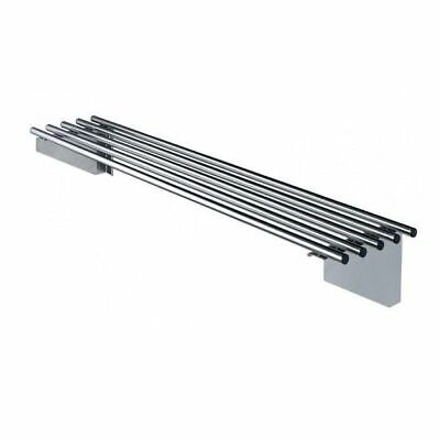 Simply Stainless Pipe Wall Shelf 1500x300mm Stainless Steel Kitchen