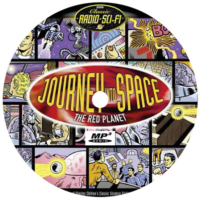 Journey Into Space (54 Shows) Old Time Radio Mp3 Cd