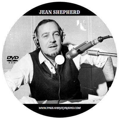 Jean Shepherd (745 Shows) Old Time Radio Mp3 2 Dvd's