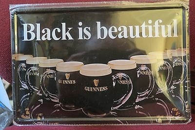 black is beautiful guinness SIGN MAN CAVE SIGN