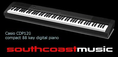 Casio CDP120 88 Weighted Key Electronic Digital Piano New with Warranty