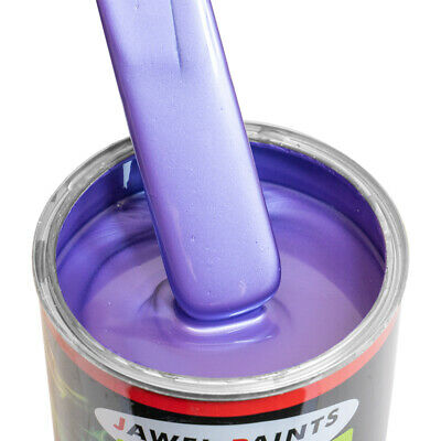 Custom Car Paint Velvet Purple Pearl Metallic Fab Colour 1 Litre Paint only
