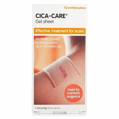Cica-Care Silicone Gel Sheet 6cm X 12cm