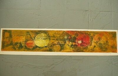 Lebadang Lithographie Originale Signee Vision Stellaire 102/120