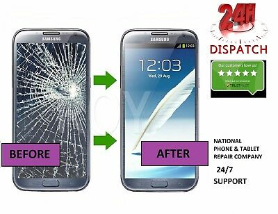 Samsung Galaxy Note 2 LCD Screen Glass Replacement - 24 HOUR REPAIR SERVICE
