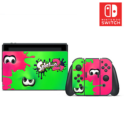 Splatoon 2 Vinyl Skin Sticker Set for Nintendo Switch